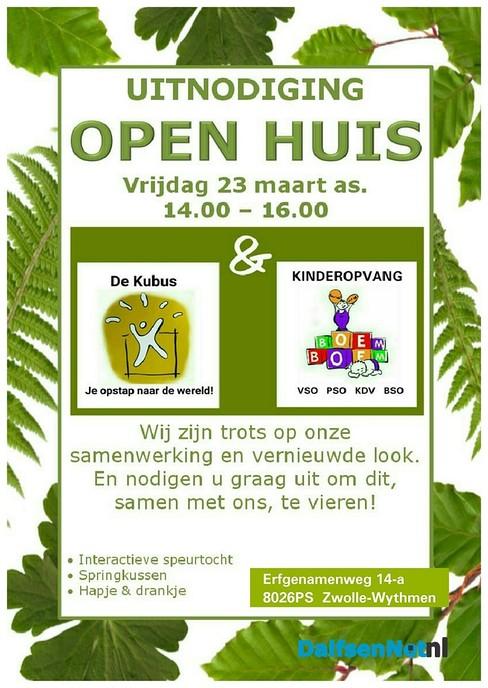 Open huis basisschool de Kubus en kinderopvang Boem Boem - Foto: Ingezonden foto