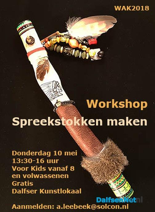 Workshop Spreekstokken maken - Foto: Ingezonden foto