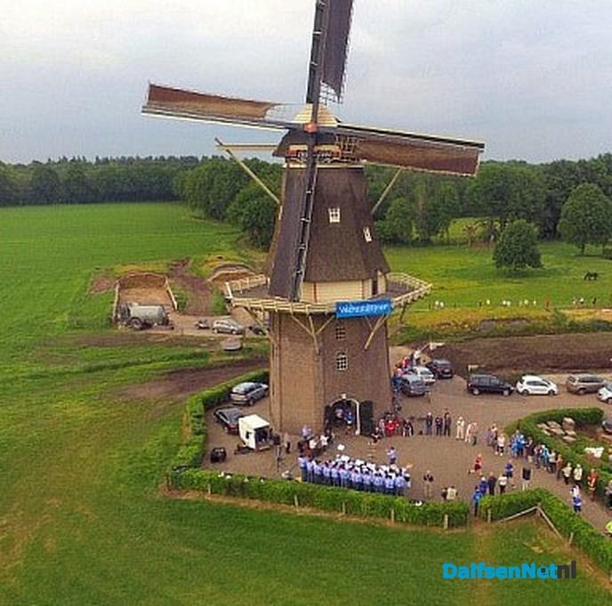 De Vilsterse Molen is weer open voor het publiek - Foto: H.G. Foto