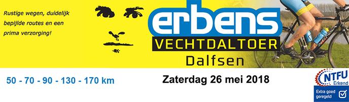 Ook dit jaar weer de Erbens Vechtdal Toer - Foto: eigen geleverde foto