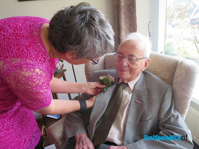 De heer en mevrouw Kuiper 60 jaar getrouwd - Foto: Wim