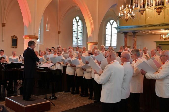 Prachtig Oranje concert in de Grote Kerk Dalfsen