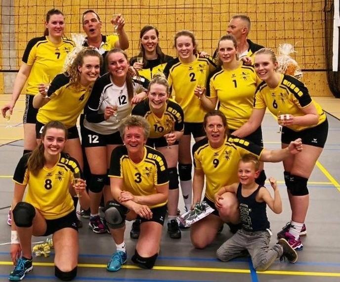 Dalvo dames 1 kampioen - Foto: eigen geleverde foto