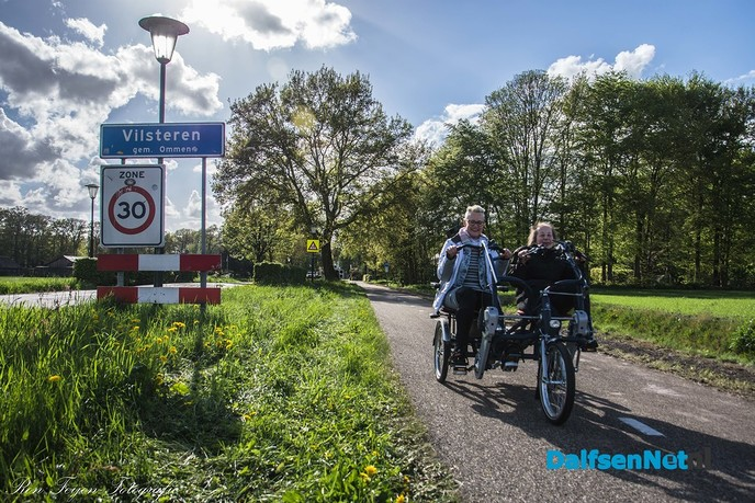 Ingebruikname Duo-fiets - Foto: Ingezonden foto