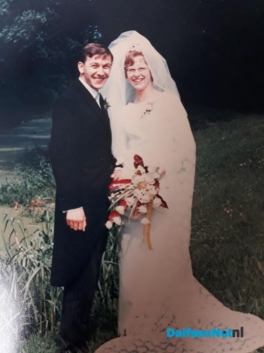 Grada & Jo Bruggeman 50 jaar getrouwd - Foto: Ingezonden foto