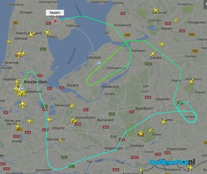 Belevingsvlucht komt er aan! (update: vliegtuig is geland)