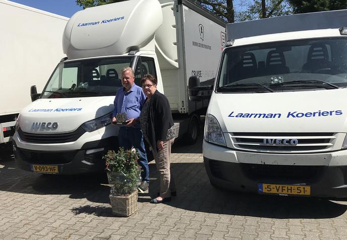 Laarman Koeriers en Sneltransport viert 40 jarig jubileum - Foto: eigen geleverde foto