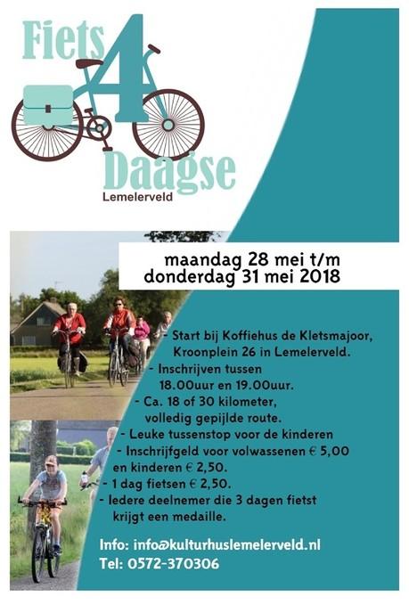 Fiets4daagse Lemelerveld - Foto: eigen geleverde foto