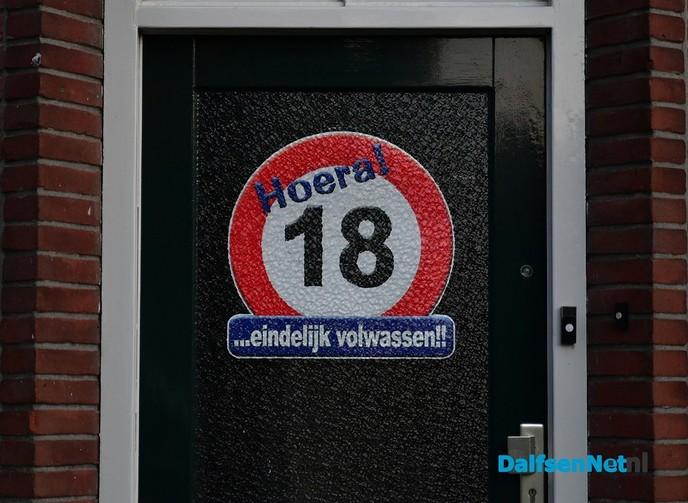 Dj klompenboermike Verhaar is 18 jaar - Foto: Johan Bokma
