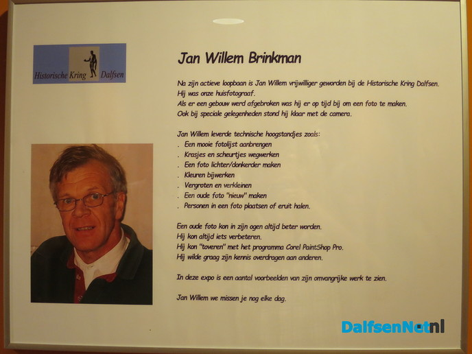 Onthulling fotoreportage van Jan Willem Brinkman - Foto: Wim