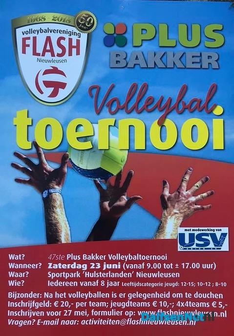 Plus Bakker Volleybaltoernooi - Foto: Ingezonden foto