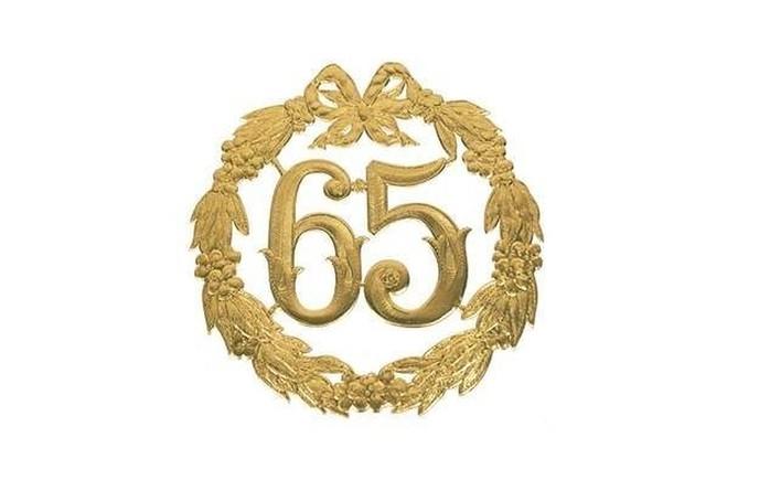 65 jarig huwelijk