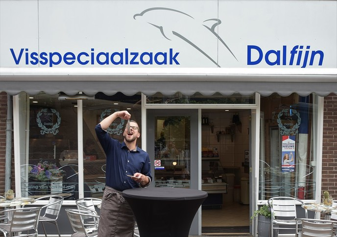"""Nieuwe haring Dalfijn """"lekker vet en romig"""""""