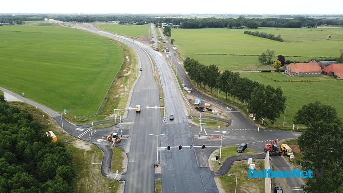 Status N35 Wijthmen weekendafsluiting op zaterdagmiddag 23 juni. - Foto: Ingezonden foto