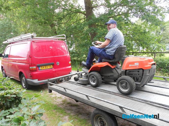 Hoogseizoen voor de grasmaaireperateur