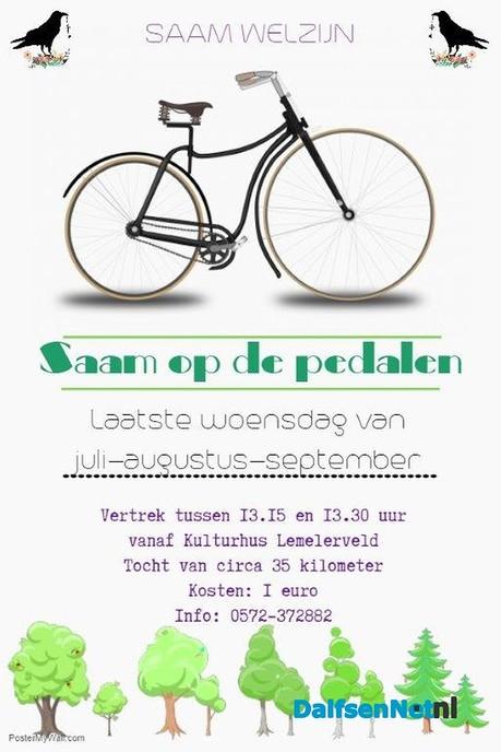 SAAM op de pedalen - Foto: Ingezonden foto