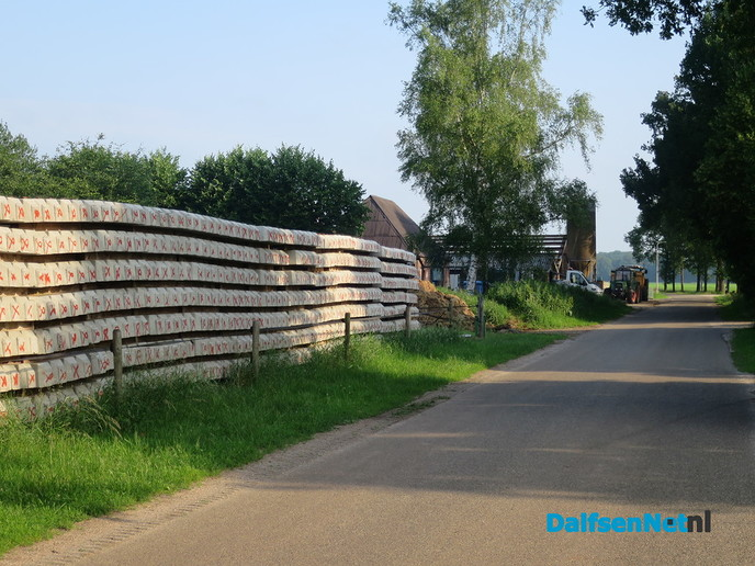 Wordt het toch nog mooi aan de Molenhoekweg - Foto: Wim