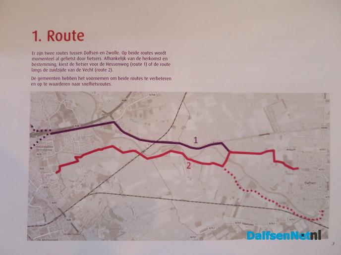 Info bijeenkomst snelfietsroute Dalfsen – Zwolle - Foto: Wim