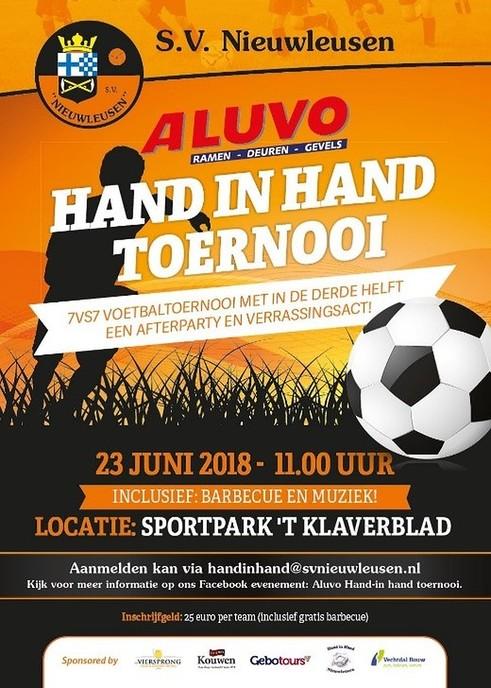 Het traditionele Hand in Hand – voetbaltoernooi - Foto: eigen geleverde foto