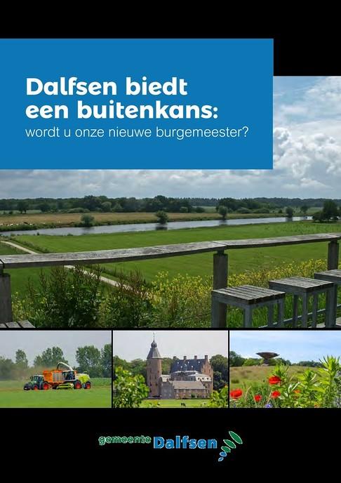 Profielschets nieuwe burgemeester - Foto: Gemeente Dalfsen