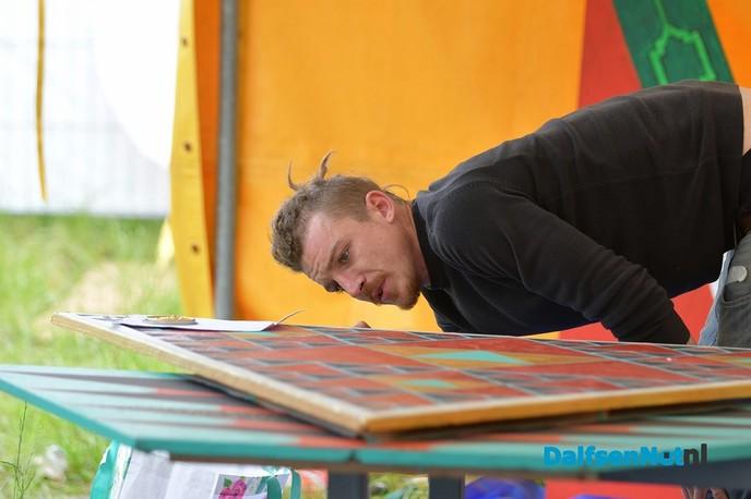 Een kijkje achter de schermen van The Living Village Festival - Foto: Johan Bokma