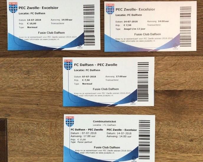 PEC Zwolle komt naar Dalfsen: kaartverkoop gestart