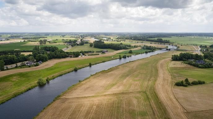 Waterschap brengt droge dijken in beeld met drone - Foto: eigen geleverde foto
