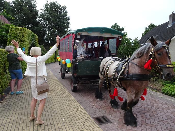 """Met """"paard en wagen"""" naar de Polhaar - Foto: eigen geleverde foto"""