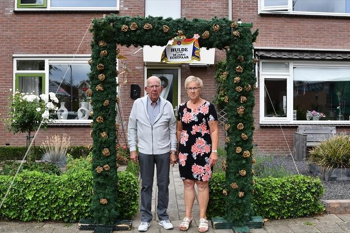 Joop en Annie 50 jaar getrouwd