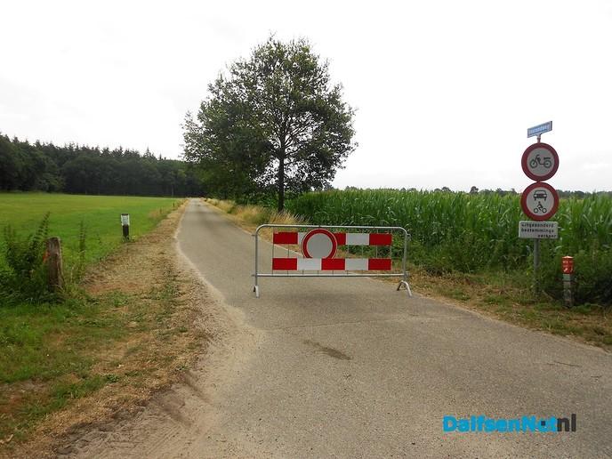Tijdelijke onderbreking fietsnetwerk
