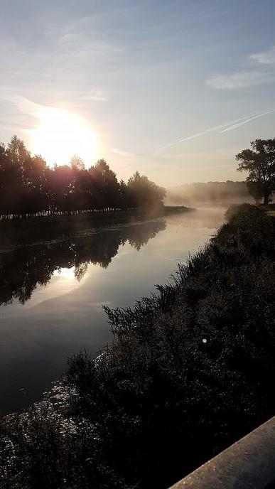 Mooie nazomerochtend vanaf de Kluinhaarsbrug - Foto: eigen geleverde foto