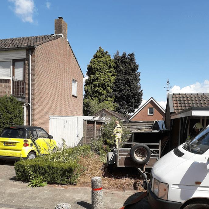 Brandweer rukte groots uit naar Hoonhorst - Foto: eigen geleverde foto
