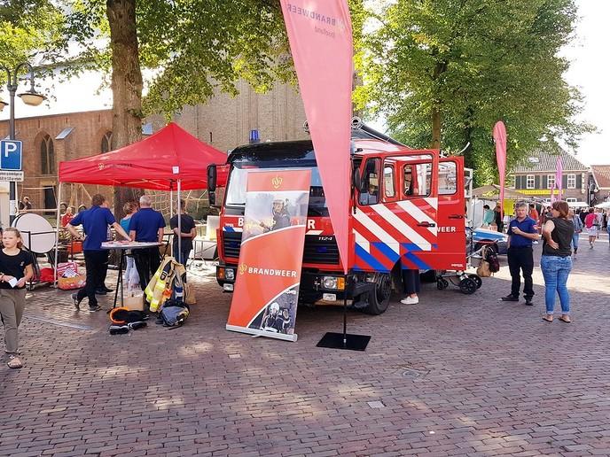 Brandweer op Blauwe Bogen Dagen - Foto: eigen geleverde foto