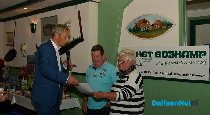 Gemeente Dalfsen zet gasten in het zonnetje: 50 jaar naar Dalfsen - Foto: Johan Bokma