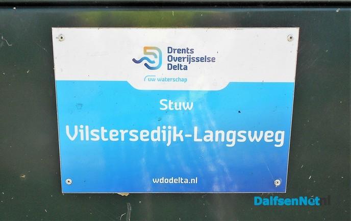 Stuw Vilstersedijk – Langsweg, kurk en kurkdroog