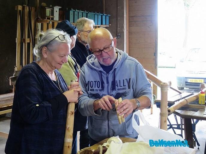 Workshop Midwinterhoorns maken - Foto: Wim