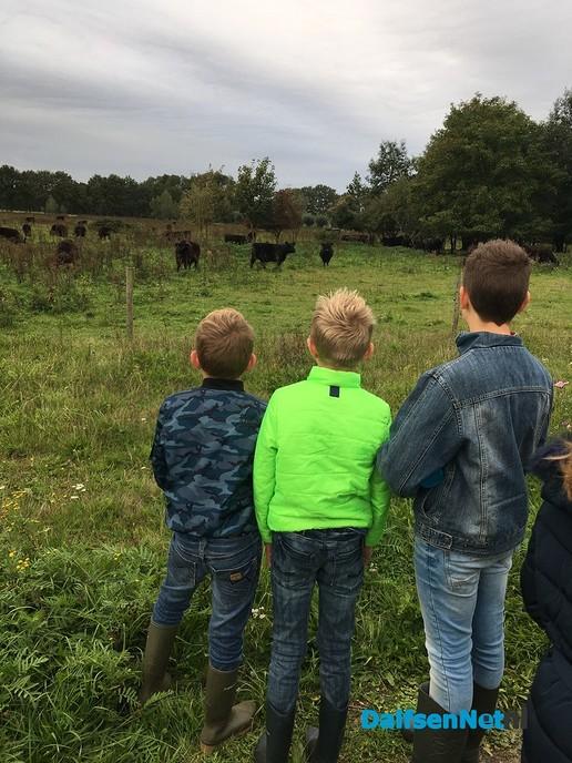 Sint-Willibrordus school bezoekt Vechterweerd - Foto: Ingezonden foto