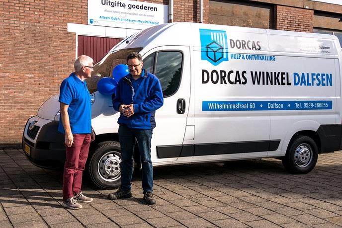 Nieuwe bus Dorcas - Foto: eigen geleverde foto