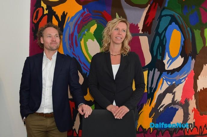 Vechtstede Notarissen en Goudzwaard Makelaardij verbinden hun naam aan Damito consumentenbeurs - Foto: Johan Bokma
