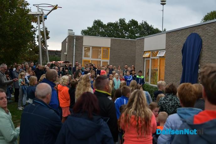 Chronisch ruimtegebrek De Spiegel opgelost dankzij schoolgebouw in Ankum - Foto: Johan Bokma