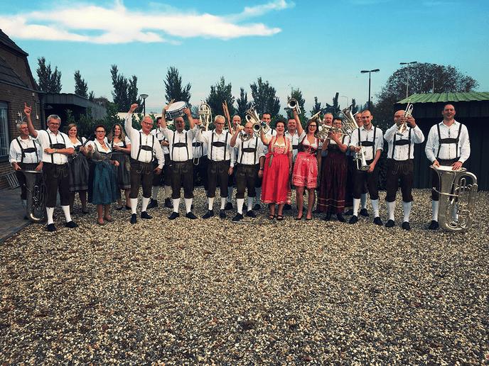 Optreden Egerländerkapel in Dalfsen