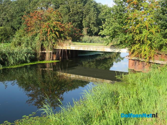 Waterspiegeling Overijssels kanaal - Foto: Wim