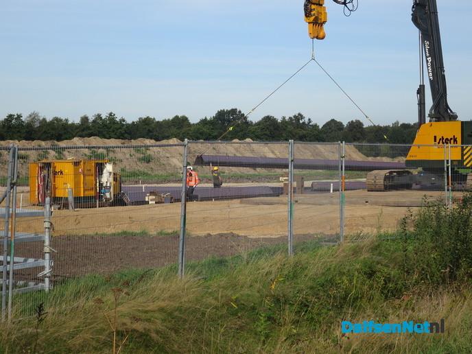 Werkzaamheden aan N348 in volle gang - Foto: Wim