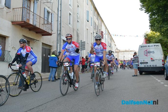 Beelden van Team Vechtdal in Frankrijk - Foto: Johan Bokma