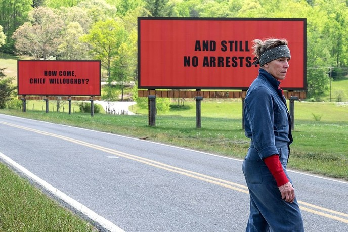 Three Billboards outside Ebbing, Missouri in De Stoomfabriek