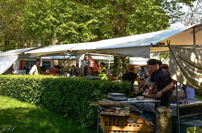 Boerenmarkt in Vilsteren, zaterdag weer - Foto: eigen geleverde foto