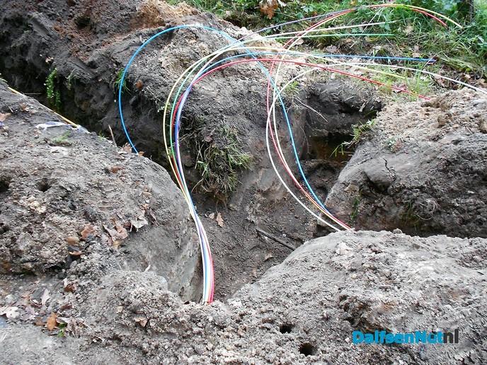 Een regenboog aan kabels