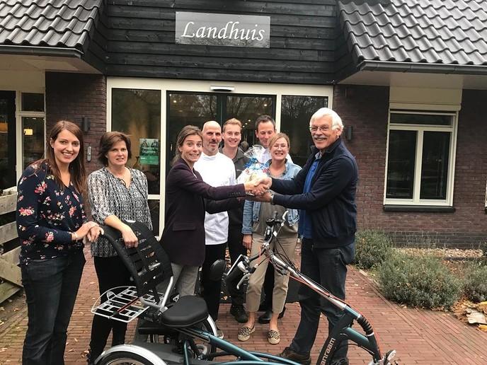 Stichting Imminkhoeve blij verrast met gift - Foto: eigen geleverde foto