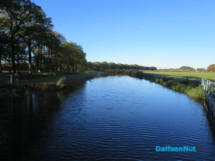 Hoog water ondanks de droogte - Foto: Wim