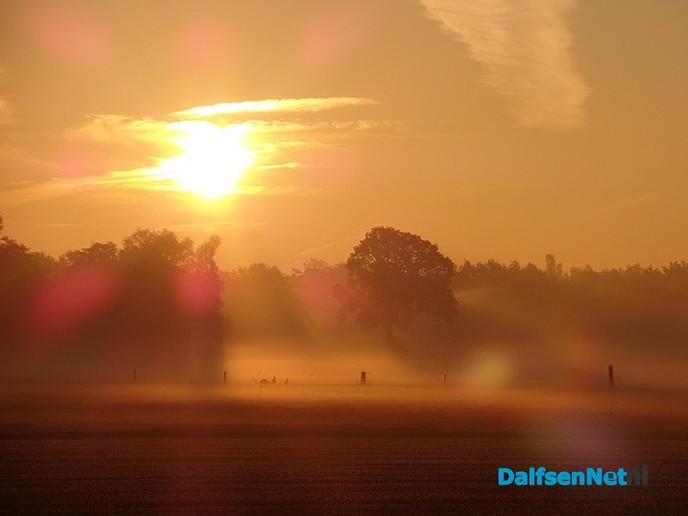 Het was weer mooi vanmorgen - Foto: Ingezonden foto